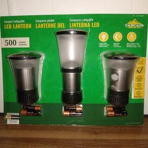 Cascade Mountain Tech LED Lantern 500 Lumens